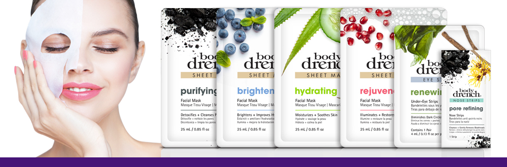 Body Drench Facial Mask Sheets