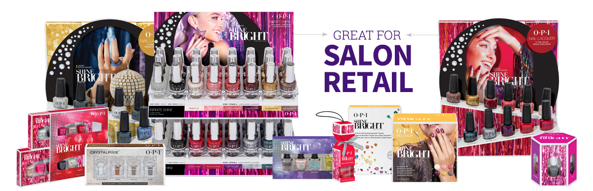 OPI Shine Bright Salon Retail
