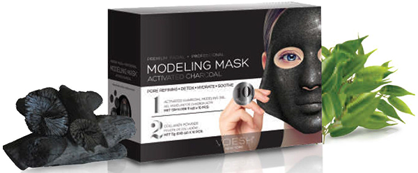 Activated Charcoal Modeling Mask