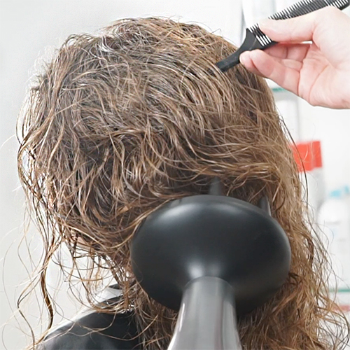 Tips for Diffusing Hair on Your Texture-Loving Clients