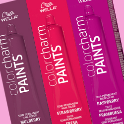 Wella Color Charm Paints Berry Collection