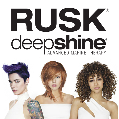 Rusk Deepshine Hair Color - Advanced Marine Therapy
