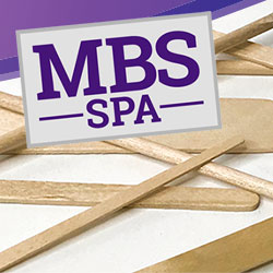 MBS SPA - Waxing Applicators & Birchwood Sticks
