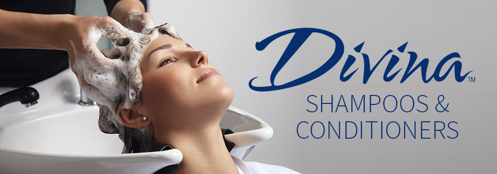 Divina shampoos and conditioners