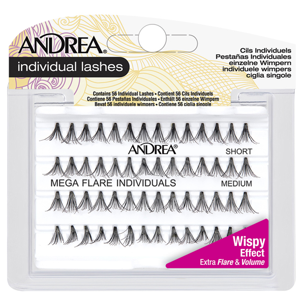 4688f38e294 Andrea Mega Flare Individuals Lashes (Short/Medium) - 65715