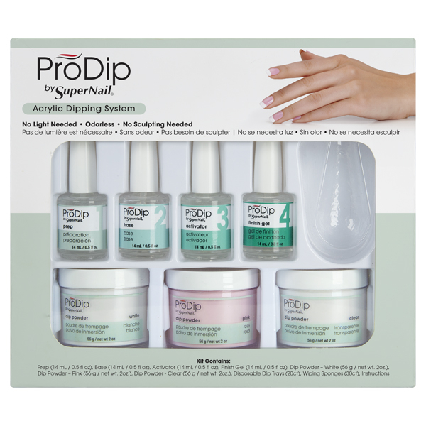 Super Nail Prodip Acrylic Dipping System Kit 65906