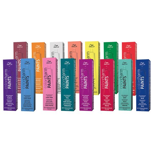 Wella Color Charm Paints Semi-Permanent Hair Color, 2 oz - 6830B ...
