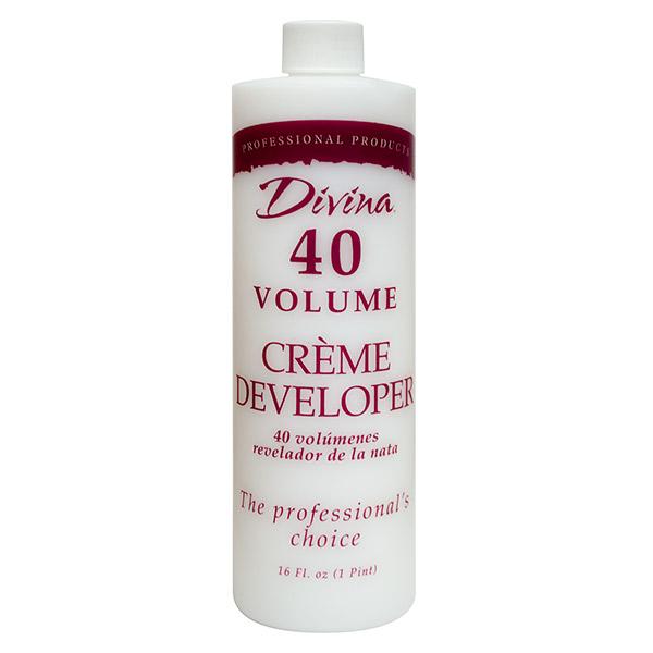 40 Volume Creme Developer, 16 oz - 025-079012D12