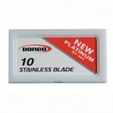 Dorco ST-301 Stainless Steel Blades, 100 Box