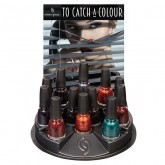 China Glaze, 12 Piece Display (To Catch A Colour Collection)