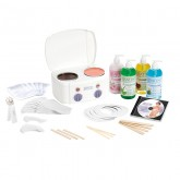 Satin Smooth Professional Double Wax Warmer Kit