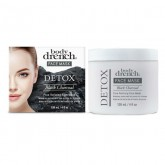 Body Drench Detox Black Charcoal Pore Refining Face Mask,  4 oz