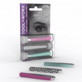 Tool Worx Mini Tweezer Trio