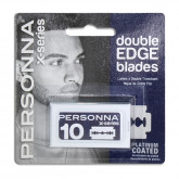 Personna Double Edge Blades, 10 Pack