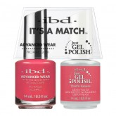 IBD It's A Match Duo Pack, .5 oz  (Peach Palette Collection)