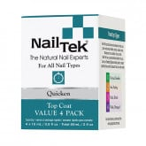 Nail Tek Quicken Fast Drying Top Coat Pro Pack