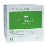 Intrinsics Medium-Size 100% Cotton Balls, 1500 Count
