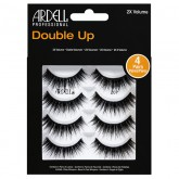Ardell Double Up 207 Black Lashes, 4 Pack
